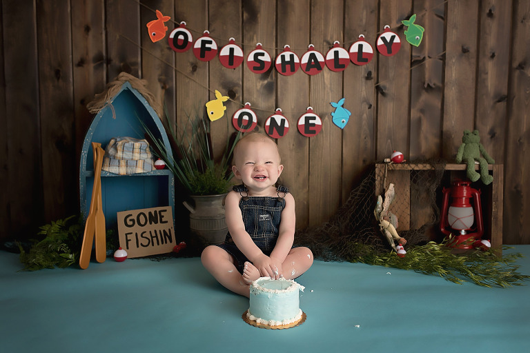 plano tx boy cake smash photoshoot