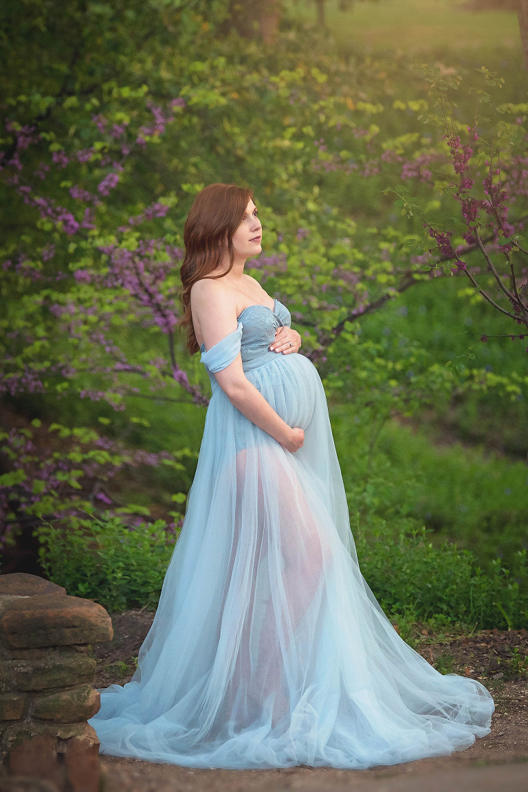 dallas tx outdoor maternity session