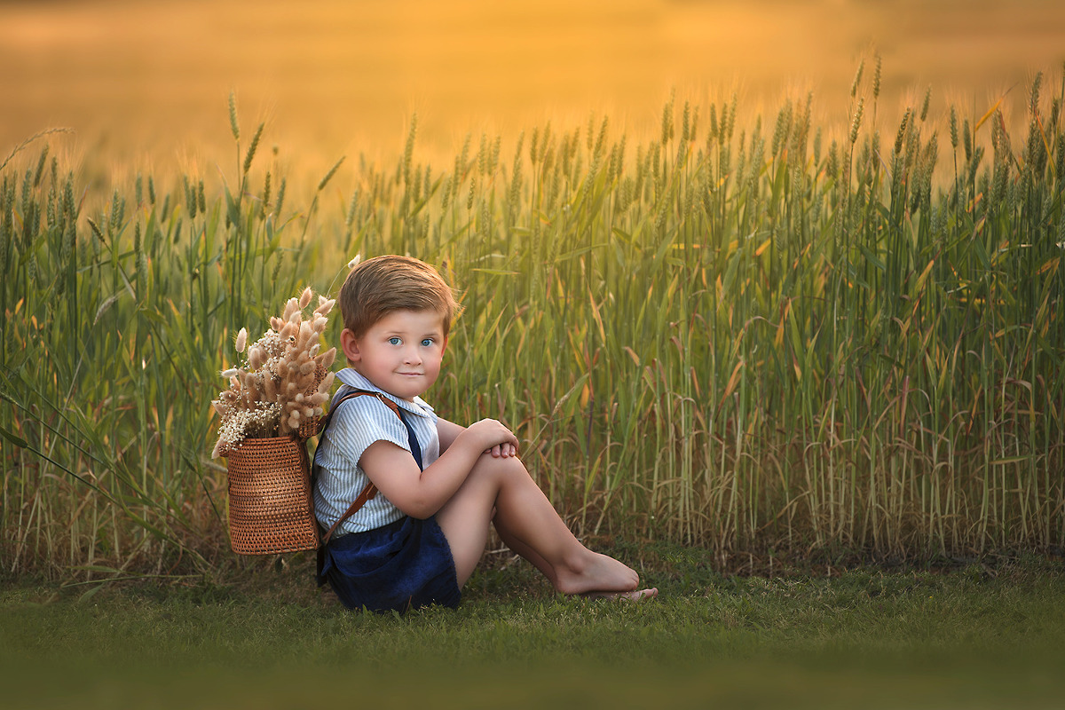 prosper tx outdoor childrens session portrait photographer