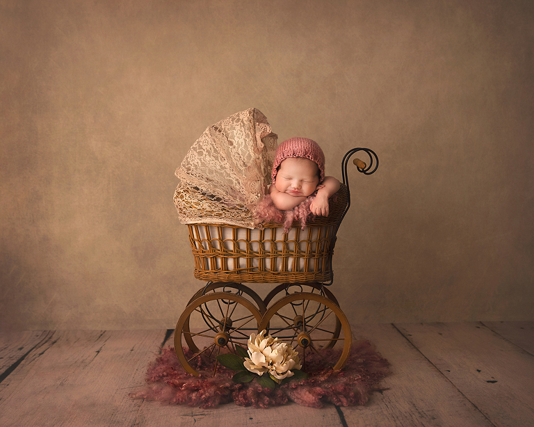 prosper newborn photo sessions vintage in studio